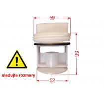 Filter do práčky Bosch, Siemens 605010